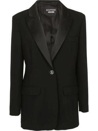 Boutique Moschino Single Button Blazer