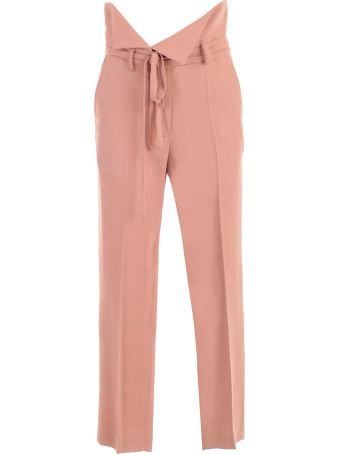 Maison Flaneur Belted Waist Trousers