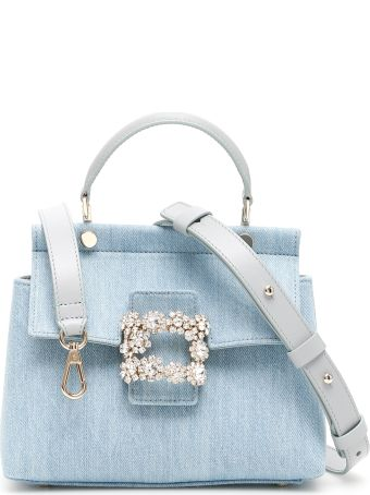 Roger Vivier Viv Flowers Mini Bag