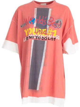"""VETEMENTS T-shirt Demna`s """"best Dad"""""""