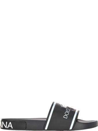 Dolce & Gabbana Dolce&gabbana Dolce & Gabbana Embossed Logo Slides