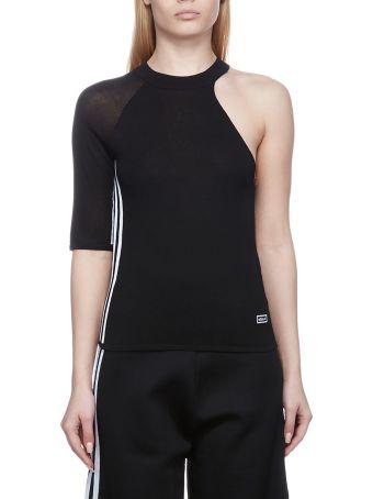 Adidas Originals One Shoulder Knitted Top