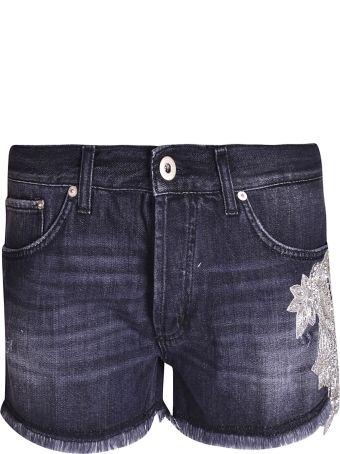 Dondup Embellished Detail Denim Shorts