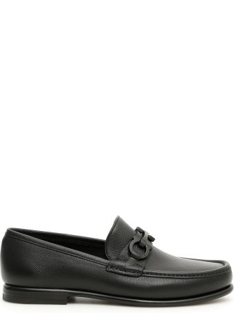 Salvatore Ferragamo Crown Moccasins