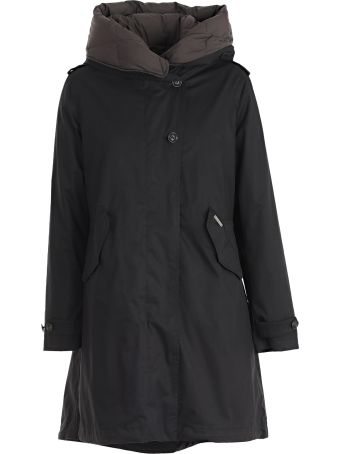Woolrich Hooded Layered Parka