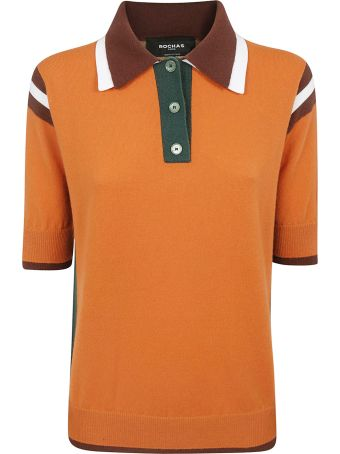 Rochas Contrasted Polo Shirt
