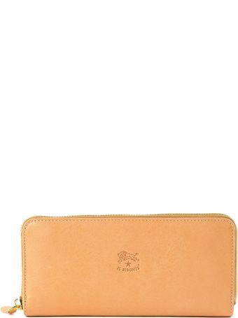 Il Bisonte Classic Zip Around Wallet