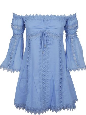 Charo Ruiz Off-shoulder Mini Dress