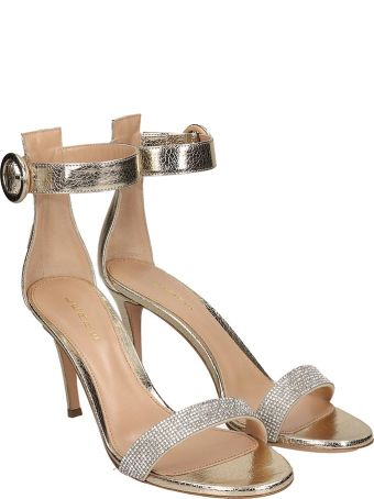 Lerre Sandals In Platinum Leather