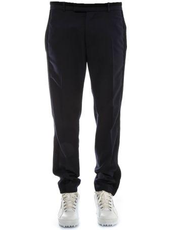Diesel Black Gold Blue Wool Pants