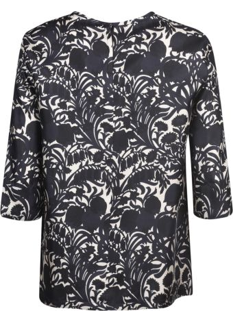 Max Mara The Cube Printed Top