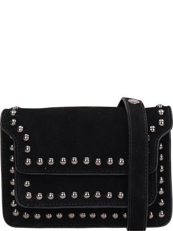 Lola Cruz Black Suede Bag
