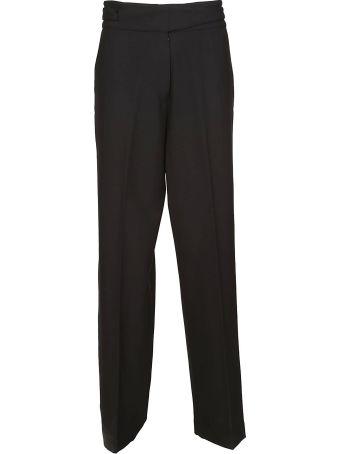 Maison Flaneur Wide-leg Trousers