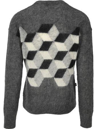 Moncler Fragment Cubic Motif Sweater