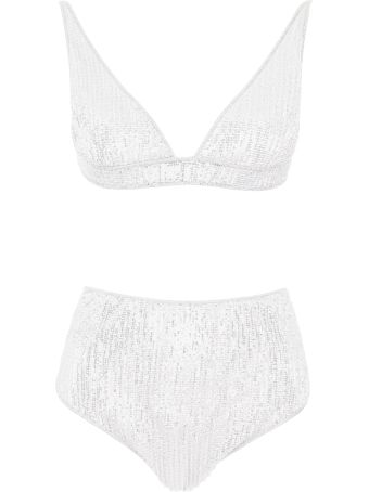 Oseree Micro Sequins Bikini