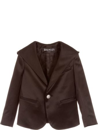 Balmain Black Girl Jacket