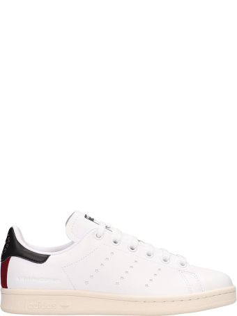 Adidas Originals White Leather Stan Smith Sneakers Stella Mccartney Collaboration