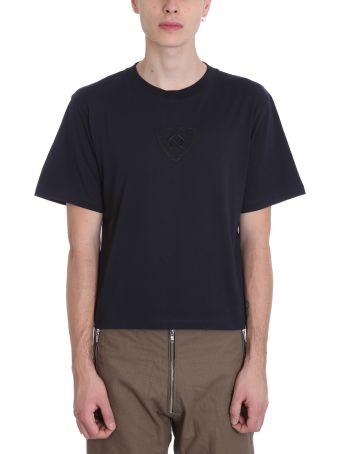 GMBH Biker Blue Cotton T-shirt