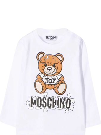 Moschino White Baby T-shirt