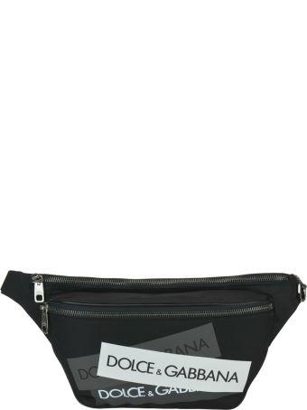 Dolce & Gabbana Logo Tape Belt Bag