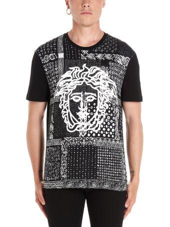 Versace 'medusa Bandana' T-shirt