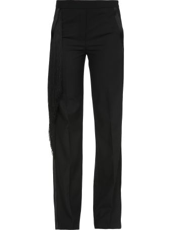 Neil Barrett Trousers  With Fringes