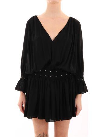 Saint Laurent Dress With Studs