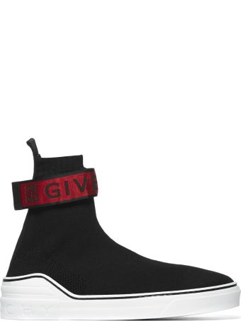 Givenchy 4g Webbing Knitted Sneakers