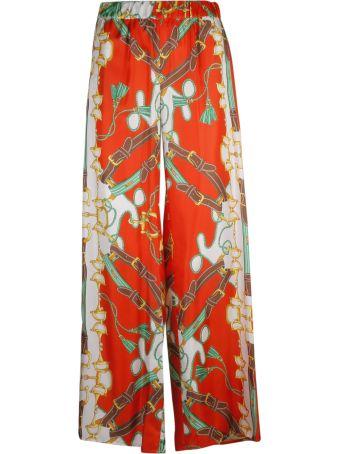 Parosh P.a.r.o.s.h. Printed Trousers