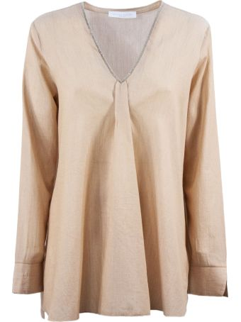 Fabiana Filippi Peach-tone Cotton Blouse