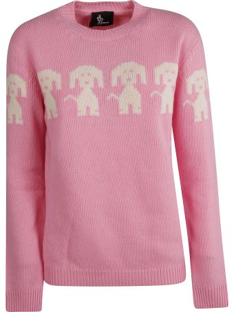Moncler Grenoble Dog Embroidered Sweater