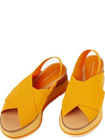 Paloma Barceló Paloma Barcelo Elastic Sandals