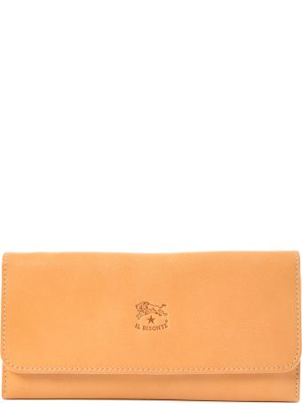 Il Bisonte Logo Continental Wallet