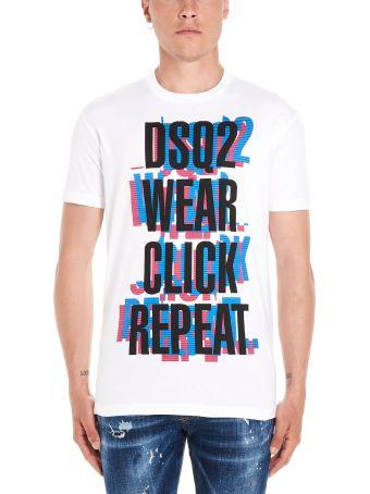 Dsquared2 'click Repeat' T-shirt