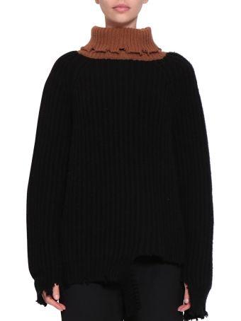 Giacobino Destroyed Wool Sweater