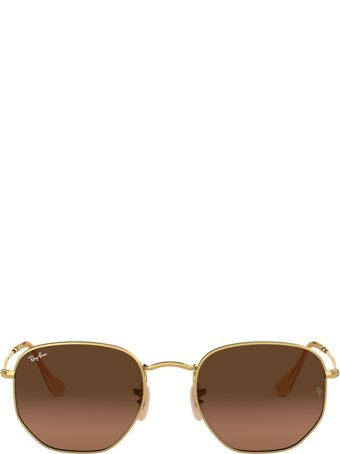 Ray-Ban Ray-ban Rb3548n Gold Sunglasses