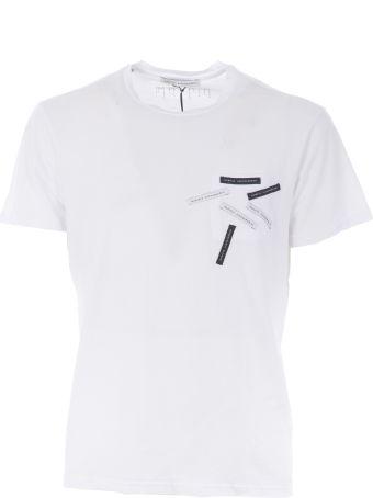Daniele Alessandrini Logo Patched T-shirt