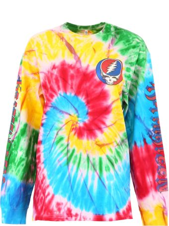 R13 Long-sleeved Tie-dye T-shirt