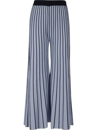 Be Blumarine Pleated Long Trousers