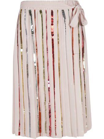 Marco de Vincenzo Sequin Embellished Skirt
