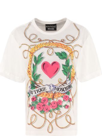 Boutique Moschino Printed Cotton T-shirt