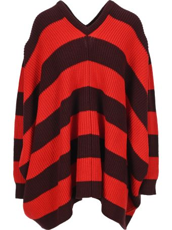 Marni Oversized Striped Jumper