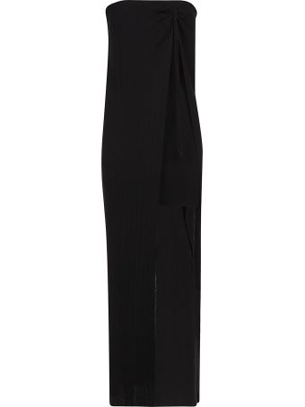 Jacquemus Cut-out Detail Knitted Dress