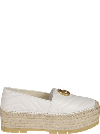 Gucci Quilted Espadrillas