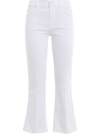 7 For All Mankind Skinny Cropped Jeans