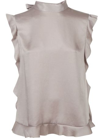 RED Valentino Ruffled Trim Top