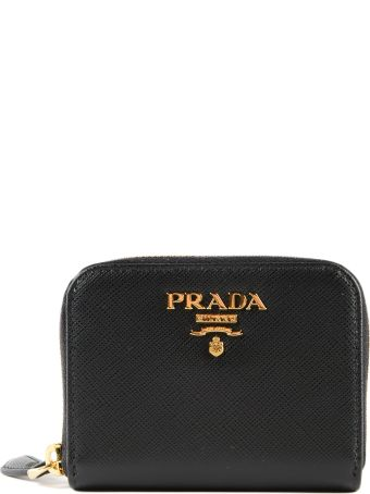Prada Zip-around Coin Purse
