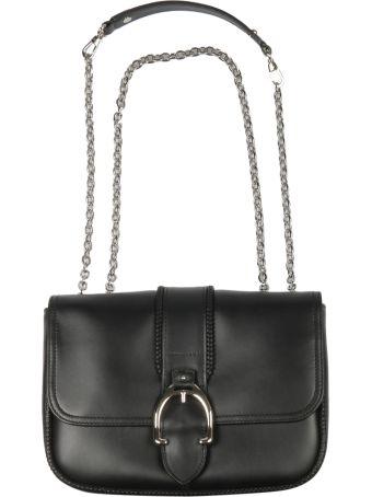 Longchamp Foldover Buckle Shoulder Bag
