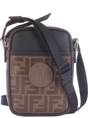 Fendi Small Ff Crossbody Bag