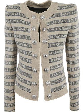 Balmain Gay Ficelle Jacket